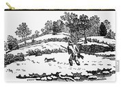 Hunting: Winter, C1800 Carry-all Pouch