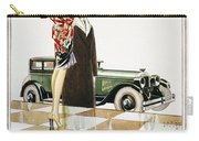 Hupmobile Ad, 1926 Carry-all Pouch