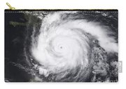 Hurricane Dean In The Atlantic Carry-all Pouch