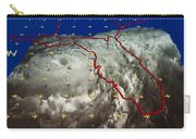 Hurricane Elena In 3-d Carry-all Pouch