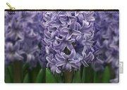 Hyacinth Hyacinthus Sp Skyline Variety Carry-all Pouch