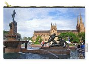 Hyde Park Fountain And St. Mary's Cathedral Carry-all Pouch