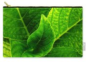 Hydrangea Leaves Carry-all Pouch