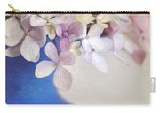 Hydrangeas In Deep Blue Vase Carry-all Pouch