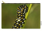 Hymenoptera Larva On Weed 1 Carry-all Pouch