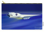Hyper-x Hypersonic Aircraft Carry-all Pouch