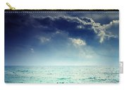 I Am Alone Carry-all Pouch by Stelios Kleanthous