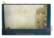 I Just Sat There Staring Out At The Fog Carry-all Pouch by Laurie Search