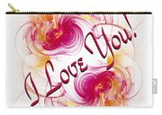 I Love You Card 1 Carry-all Pouch