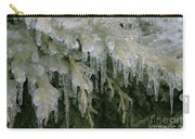 Ice-coated Arborvitae Carry-all Pouch