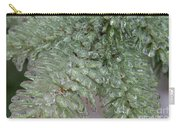 Ice-coated Norway Spruce Carry-all Pouch