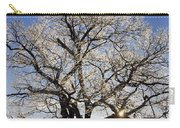 Ice Covered Tree At Sunrise Carry-all Pouch