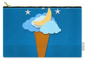 Ice Cream Design On Hand Made Paper Carry-all Pouch by Setsiri Silapasuwanchai