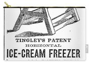 Ice Cream Freezer, 1872 Carry-all Pouch