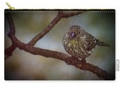 Ice Droplet Bird Carry-all Pouch
