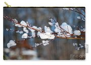 Ice On A Branch Carry-all Pouch