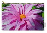 Ice Pink Dahlia Carry-all Pouch