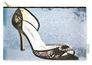 Ice Princess Lace Pumps Carry-all Pouch