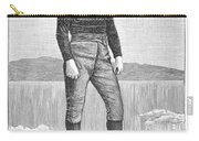 Ice Skater, 1880 Carry-all Pouch
