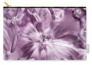 Iced Hydrangea Bloom Carry-all Pouch