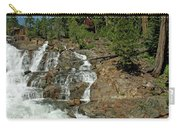 Icy Water Falls Glen Alpine Falls Carry-all Pouch