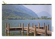 idyllic tarn in Italy Carry-all Pouch by Joana Kruse