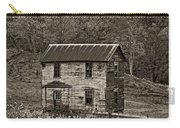 If These Walls Could Talk Sepia Carry-all Pouch