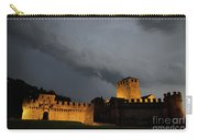 Illuminated Castle At Night Carry-all Pouch