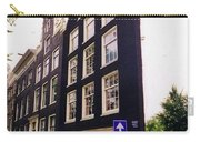 Illusion Of A Two Dimensional Building In Amsterdam Carry-all Pouch