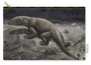 Illustration Of A Nikkasaurus Carry-all Pouch