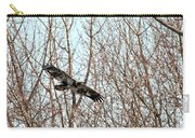 Immature Bald Eagle Flying Carry-all Pouch