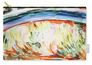 Impressions On Monet Painting Of Pond With Waterlilies  Carry-all Pouch