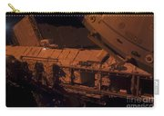 In The Darkness Of Space, An Astronaut Carry-all Pouch by Stocktrek Images