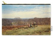 In The New Forest Carry-all Pouch by Heywood Hardy