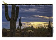 In The Shadow Of The Saguaro  Carry-all Pouch