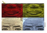 In Your Face In Colors Carry-all Pouch