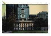 Independence Hall - The Cradle Of Liberty Carry-all Pouch by Bill Cannon