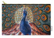 India: Peacock Carry-all Pouch