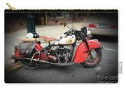 Indian Chief Motorcycle Rare Carry-all Pouch