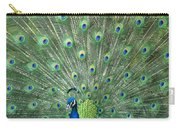 Indian Peafowl Pavo Cristatus Male Carry-all Pouch