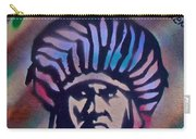 Indigenous Motto Earth Tones Carry-all Pouch