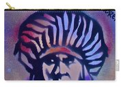 Indigenous Motto...blue Carry-all Pouch