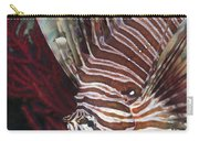 Indonesian Lionfish On A Wreck Site Carry-all Pouch