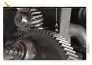 Industrial Gears Whith Oil Drops Carry-all Pouch