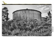 Industrial Tank In Black And White Carry-all Pouch