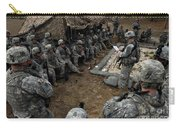 Infantrymen Receive Their Safety Brief Carry-all Pouch