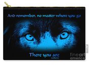 Inner Self Carry-all Pouch by Smilin Eyes  Treasures
