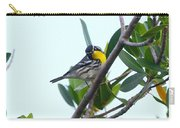 Inquisitive Yellow Throated Warbler Carry-all Pouch