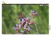Insect And Flower Carry-all Pouch
