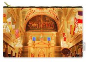 Inside St Louis Cathedral Jackson Square French Quarter New Orleans Accented Edges Digital Art Carry-all Pouch